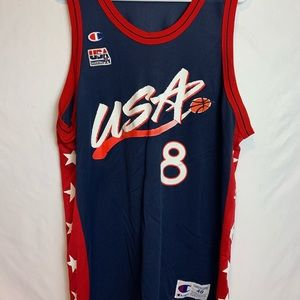 Scottie Pippen Champion Jersey Size 48 1996 USA